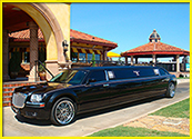 Black Chrysler 300 Limo
