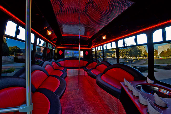 Legacy Party Bus in OKC