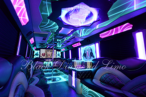 OKC party bus rental Palace