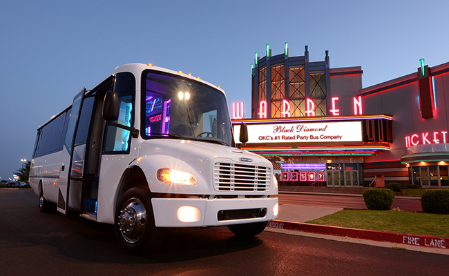 OKC Limo Party Bus Rental Company Palace