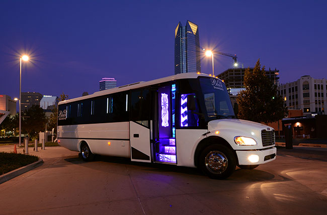 OKC's Best Limo Party Bus Rental Atlantis