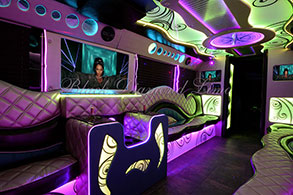 Oklahoma City Party Bus Rental Atlantis Limo